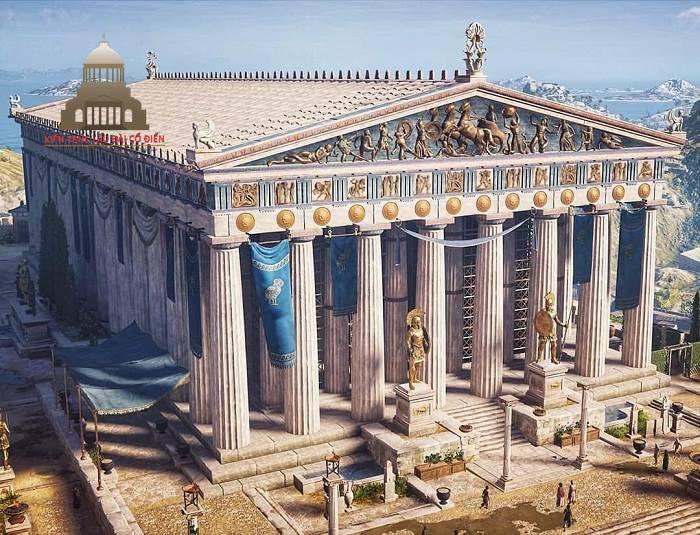 Phong cách kiến trúc Hy Lạp cổ đại