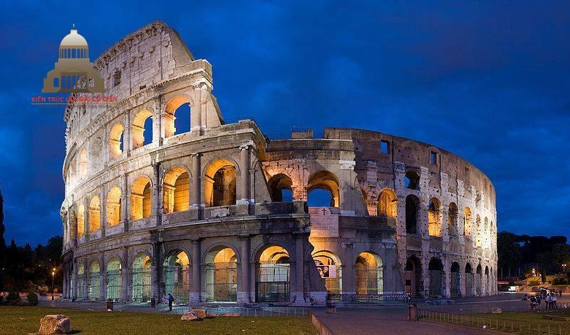 Phong cách kiến trúc La Mã cổ đại