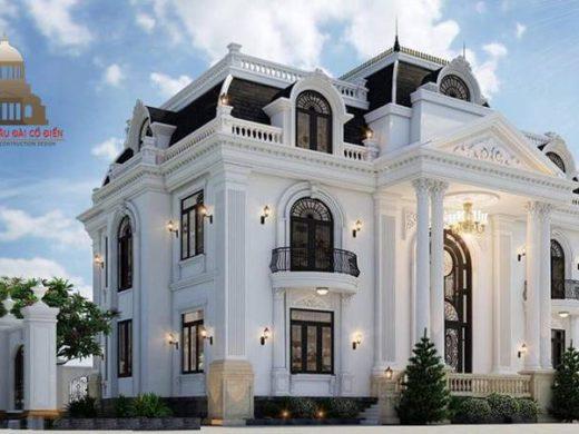 Thiết kế biệt thự tân cổ điển 2 tầng Châu Âu 3