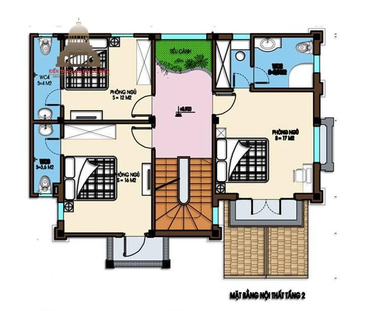 Biệt thự mini tân cổ điển 3 tầng 6