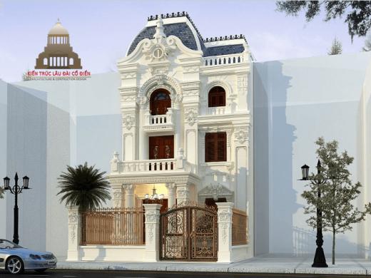 Biệt thự tân cổ điển đẹp 3 tầng tại Long An 1