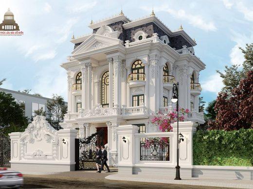 Biệt thự tân cổ điển đẹp 3 tầng tại Vĩnh Long 2