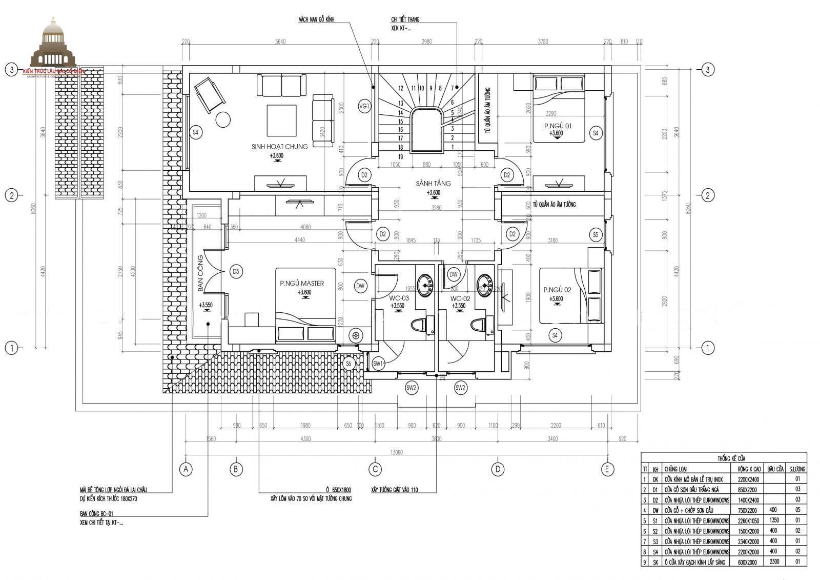 Biệt thự tân cổ điển đẹp 3 tầng tại Vĩnh Long 5