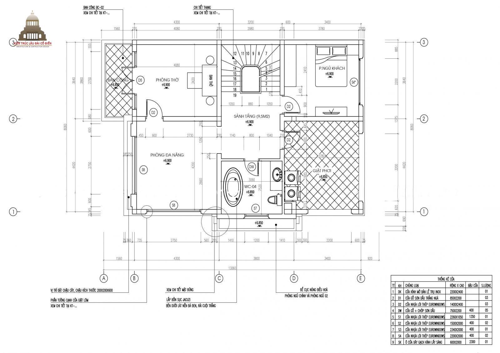 Biệt thự tân cổ điển đẹp 3 tầng tại Vĩnh Long 6