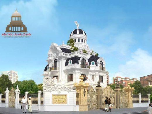 lâu đài châu âu cổ điển 3 tầng 1