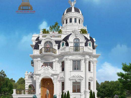 lâu đài châu âu cổ điển 3 tầng 4