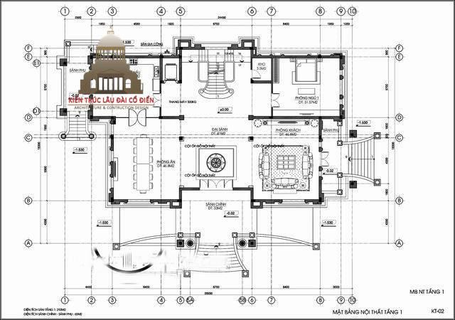 lâu đài châu âu cổ điển 3 tầng 6