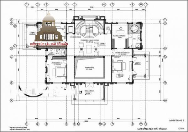 lâu đài châu âu cổ điển 3 tầng 7