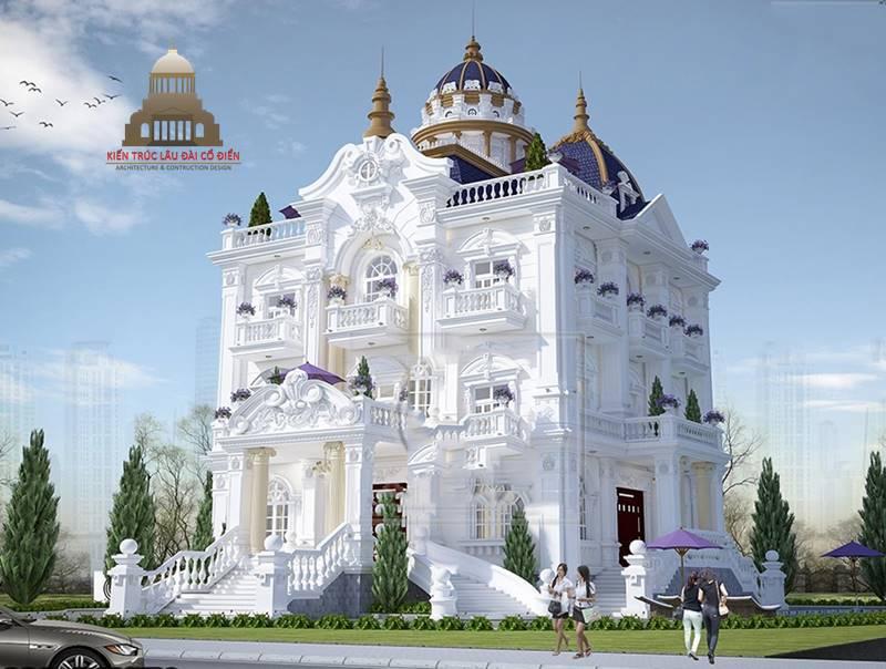 Lâu đài cổ điển châu Âu 3 tầng 1