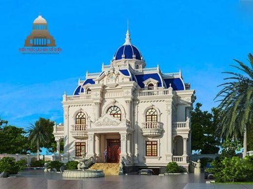 lâu đài dinh thự Châu Âu 1