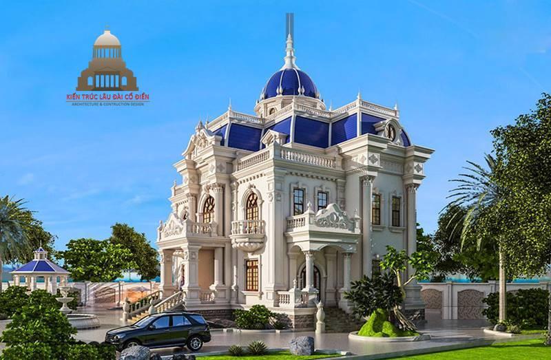 lâu đài dinh thự Châu Âu 2