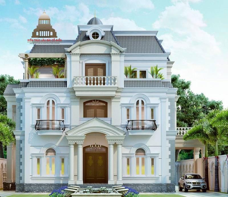 Top 8 mẫu biệt thự tân cổ điển sang trọng nhất hiện nay 2