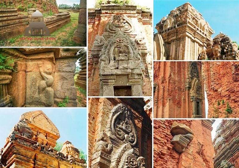 Tháp Chăm Pa & Những đặc điểm kiến trúc Chăm Pa 2
