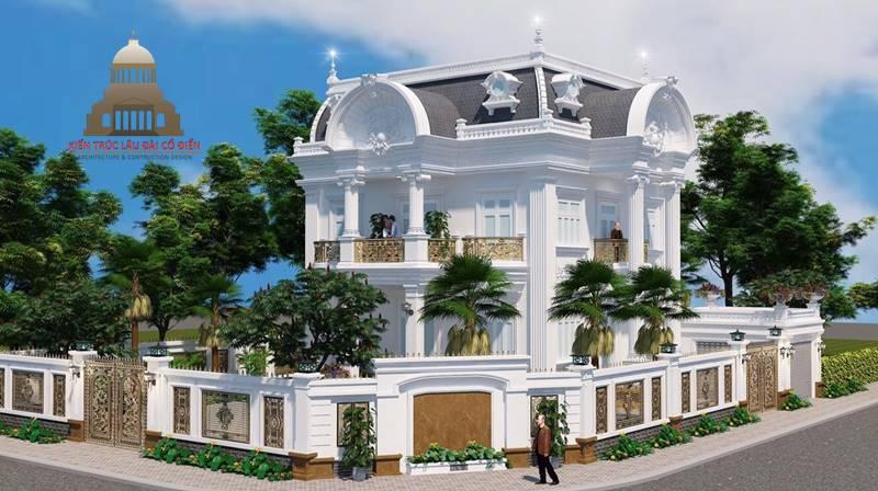 Biệt thự 2 tầng tân cổ điển đẹp 3