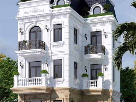 Biệt thự 3 tầng tân cổ điển kiểu Pháp 4