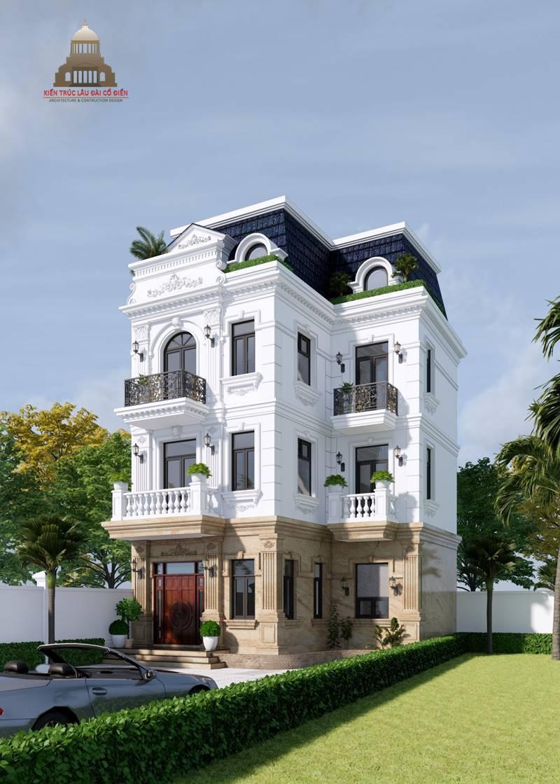 Biệt thự 3 tầng tân cổ điển kiểu Pháp 6