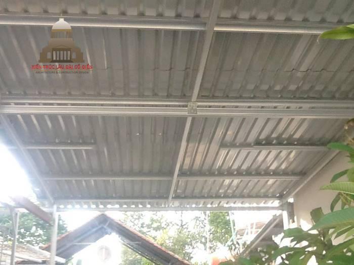 Hướng dẫn cách tính khoảng cách xà gồ mái tôn 2