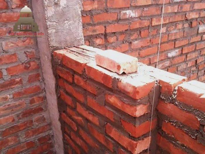 Cách tính nhanh 1m3 tường 220 bao nhiêu viên gạch 1