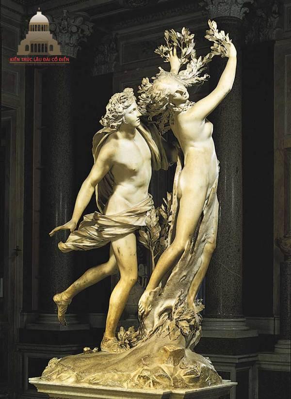 Phong cách thời thượng khi điêu khắc tượng châu Âu 1