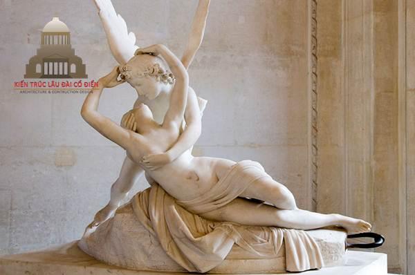 Phong cách thời thượng khi điêu khắc tượng châu Âu 2