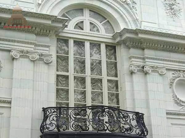 4 Mẫu hoa văn trang nhã khi đắp phào chỉ cửa sổ 3