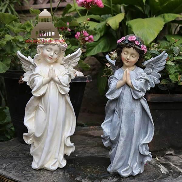 Mẫu điêu khắc tượng thiên thần có cánh 5