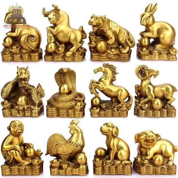 Top 12 ý nghĩa tượng điêu khắc 12 con giáp có thể bạn chưa biết 1