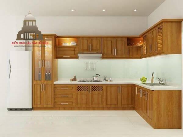 Kích thước tủ bếp tiêu chuẩn cao bao nhiêu 2