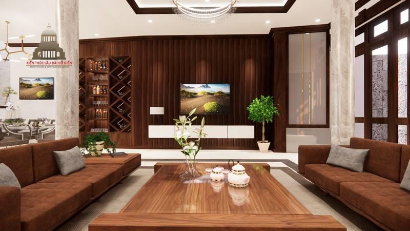 Thiết kế nội thất tân cổ điển 1