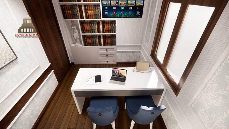 Thiết kế nội thất tân cổ điển 12