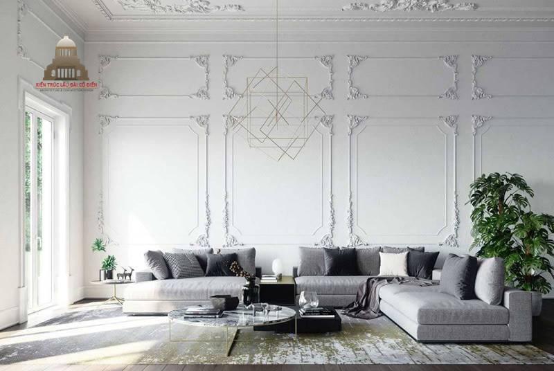 Thiết kế nội thất tân cổ điển 19