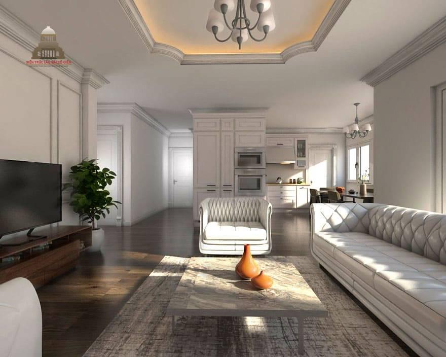 Thiết kế nội thất tân cổ điển 21