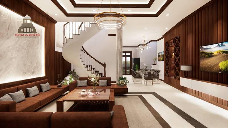 Thiết kế nội thất tân cổ điển 3