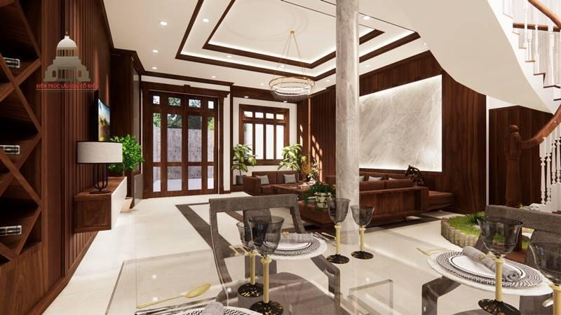 Thiết kế nội thất tân cổ điển 5