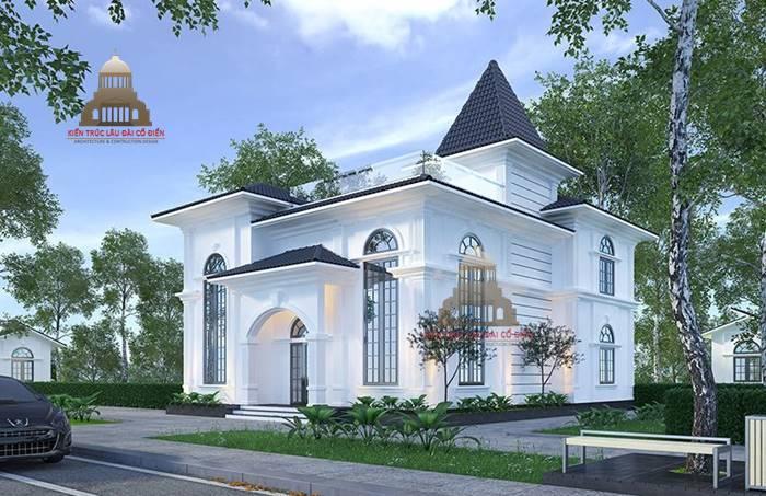 Biệt thự tân cổ điển tại quận Phú Nhuận 1
