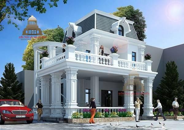 Biệt thự tân cổ điển tại quận Phú Nhuận 2