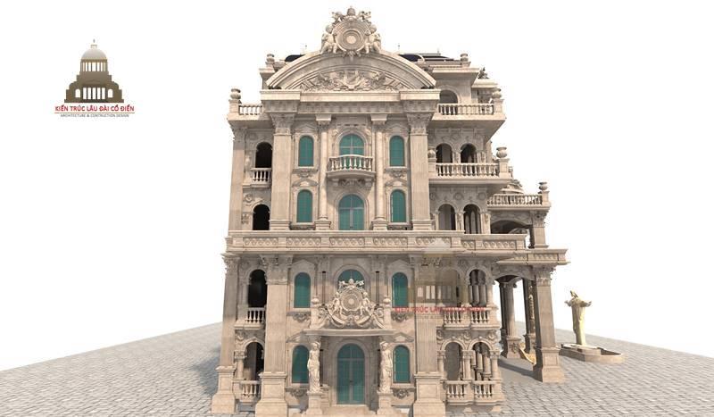 Biệt thự tân cổ điển tại Quận Tân Phú 1