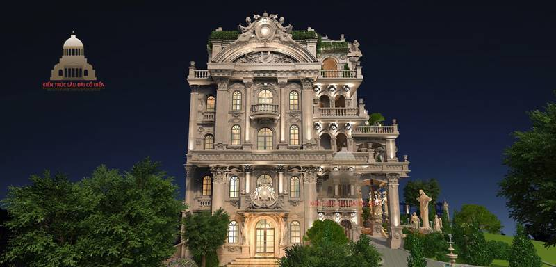 Biệt thự tân cổ điển tại Quận Tân Phú 2
