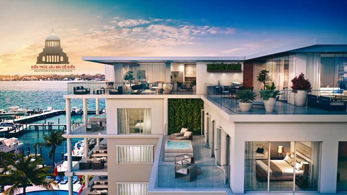 Căn hộ penthouse 1