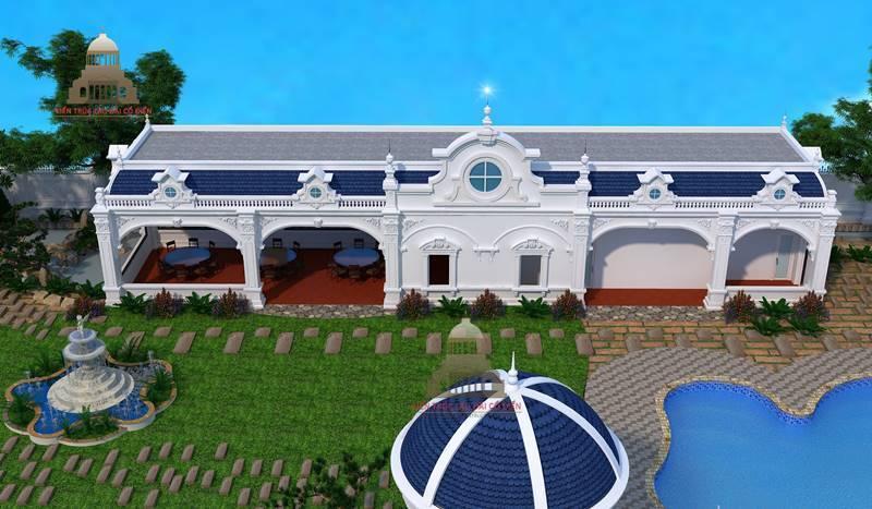 Biệt thự tân cổ điển huyện Nhà Bè 4
