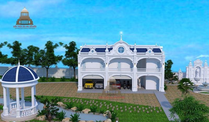 Biệt thự tân cổ điển huyện Nhà Bè 6
