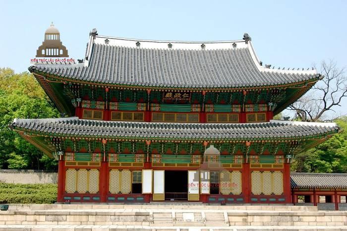 Kiến trúc cổ đại phương đông cung điện Changdeok – Hàn Quốc