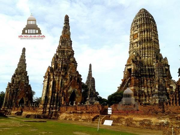 Kiến trúc cổ đại phương đông Kinh đô Ayutthaya tại Thái Lan