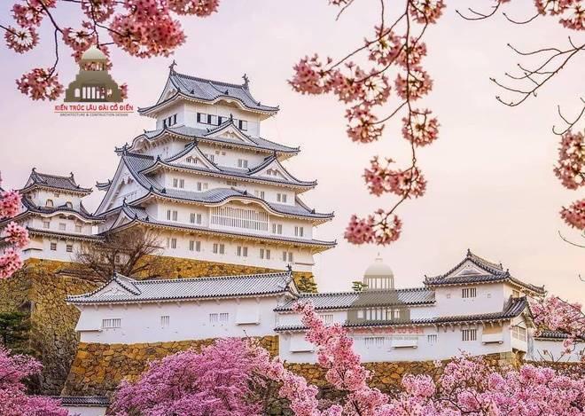 Kiến trúc cổ đại phương đông Lâu Đài Himeji