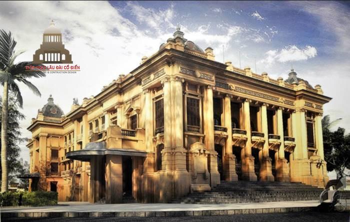 Phong cách kiến trúc tân cổ điển nhà hát lớn Hà Nội