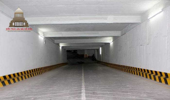 Ram dốc tầng hầm 2